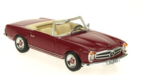 Mercedes 230 SL  Cabriolet -W113- (1963) White Box 1:43