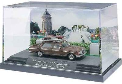 Mercedes 300D -W123- (1981) Mini-diorama Busch 1/87