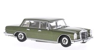 Mercedes 600 -W100- (1964) White Box 1:43