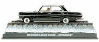 "Mercedes Benz 250 SE -W108- (1965) James Bond ""Octopussy"" Fabbri 1/43 Entrega 23"