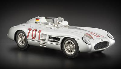 "Mercedes Benz 300 SLR ""Mille Miglia"" nº 701 Karl Kling -W196- (1955) CMC 1:18"