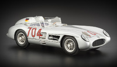 "Mercedes Benz 300 SLR ""Mille Miglia"" nº 704 Hans Hermann -W196- (1955) CMC 1:18"