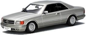 Mercedes Benz 500SEC -W126- Coupé (1981) Autoart 1/43