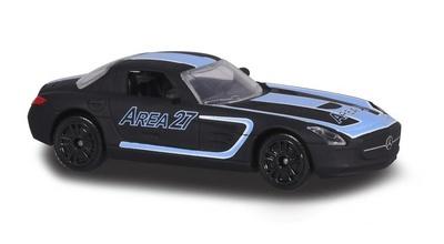"""Mercedes Benz SLS """"Area 27"""" (2015) Majorette 1/64"""