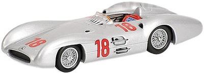 """Mercedes Benz W196 """"1º GP. Francia"""" nº 18 Juan Manuel Fangio (1954) Minichamps 1/43"""