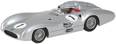"""Mercedes Benz W196 """"GP. Gran Bretaña""""nº 1 Juan Manuel Fangio (1954) Minichamps 1/43"""