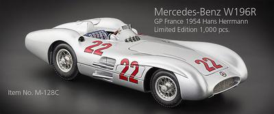 "Mercedes Benz W196R ""GP. Francia"" nº 22 Hans Herrmann (1954) CMC 1:18"