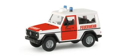 "Mercedes Clase G ""Dpto. Bomberos de Stuttgart"" Herpa 1/87"