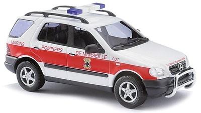 "Mercedes Clase M ""Bomberos de Marsella"" Busch 1/87"