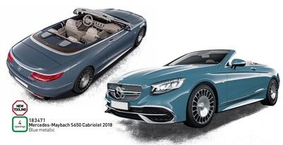 Mercedes Maybach S650 Cabriolet (2018) Norev 1:18