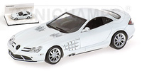 "Mercedes SLR McLaren (2004) ""White Edition"" Minichamps 1/43"