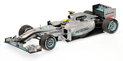 Mercedes W01 nº 4 Nico Rosberg (2010) Minichamps 1/18