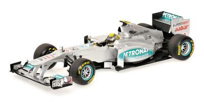 Mercedes W02 nº 8 Nico Rosberg (2011) Minichamps 1/18