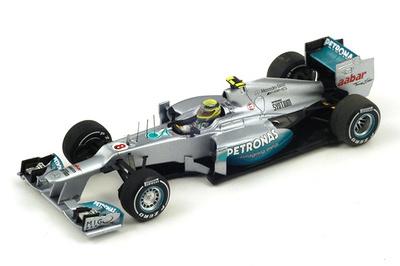 """Mercedes W03 """"1º GP China"""" nº 8 Nico Rosberg (2012) Spark 1/43"""
