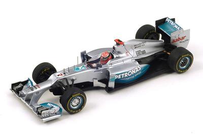 "Mercedes W03 ""GP Mónaco"" nº 7 Michael Schumacher (2012) Spark 1/43"