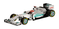 "Mercedes W03 ""Showcar"" nº 7 Michael Schumacher (2012) Minichamps 1/43"