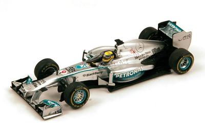 "Mercedes W04 ""1º GP. Mónaco"" nº 9 Nico Rosberg (2013) Spark 1:43"