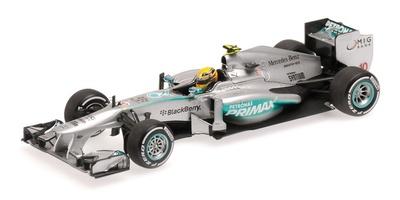 "Mercedes W04 ""GP. Malasia"" nº 10 Lewis Hamilton (2013) Minichamps 1:43"