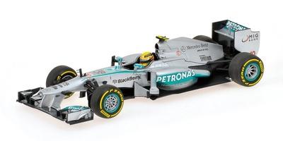 Mercedes W04 nº 10 Lewis Hamilton (2013) Minichamps 1:43