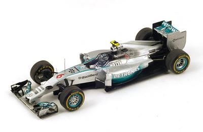 """Mercedes W05 """"1º GP. Australia"""" nº 6 Nico Rosberg (2014) Spark S3087 1:43"""
