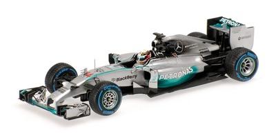 """Mercedes W05 """"1º GP. Japón"""" Lewis Hamilton (2014)  Minichamps 1:43"""