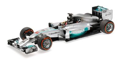 "Mercedes W05 ""1º GP. Malasia"" nº 44 Lewis Hamilton (2014) Minichamps 1:18"