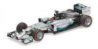 "Mercedes W05 ""1º GP. Malasia"" nº 44 Lewis Hamilton (2014) Minichamps 1:43"