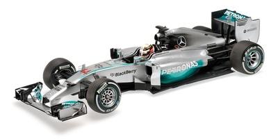 "Mercedes W05 ""GP. China"" nº 44 Lewis Hamilton (2014) Minichamps 1:18"