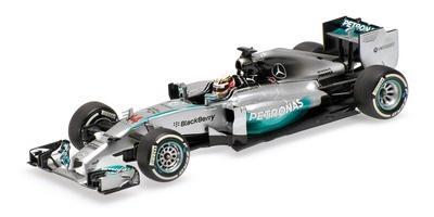 "Mercedes W05 ""GP. China"" nº 44 Lewis Hamilton (2014) Minichamps 1:43"