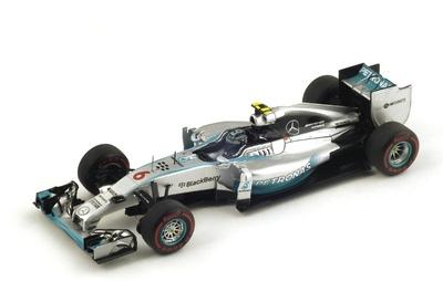 "Mercedes W05 ""GP. Mónaco"" nº 5 Nico Rosberg Spark (2014) S3092 1:43"