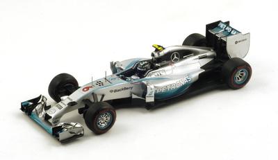 "Mercedes W05 ""GP. Mónaco"" nº 6 Nico Rosberg (2014) Spark 1:18"