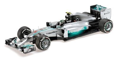 Mercedes W05 nº 6 Nico Rosberg (2014) Minichamps 1:18