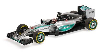 """Mercedes W06 """"1º GP. Bélgica"""" Lewis Hamilton (2015)  Minichamps 1:43"""