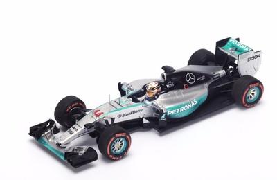 "Mercedes W06 ""1º GP. Japón"" n° 44 Lewis Hamilton (2015) Spark 1:43"