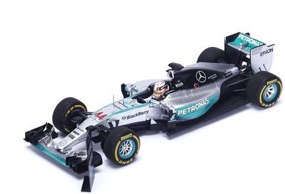 "Mercedes W06 ""1º GP. USA"" (con Pit Board) nº 44 Lewis Hamilton (2015) Spark 1:43"