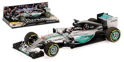 "Mercedes W06 ""1º GP. USA"" Lewis Hamilton (2015)  Minichamps 1:43"