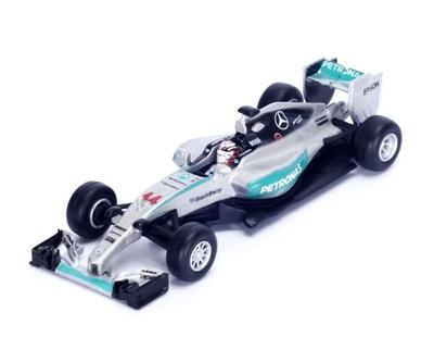 """Mercedes W06 """"1º GP. USA"""" n° 44 Lewis Hamilton (2015) Spark 1:64"""