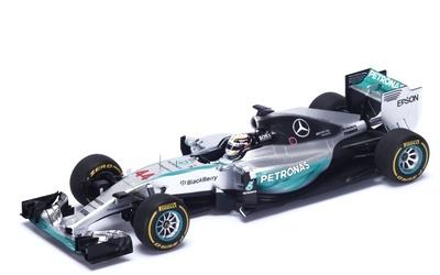 "Mercedes W06 ""GP. Australia"" nº 44 Lewis Hamilton (2015) Spark 1:18"