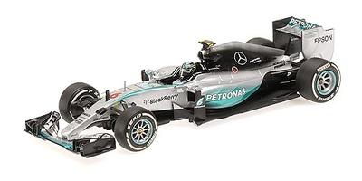 """Mercedes W06 """"GP. Australia"""" nº 6 Nico Rosberg (2015) Minichamps 1:43"""