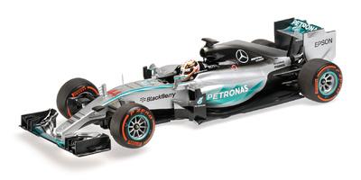 "Mercedes W06 ""GP. Japón"" nº 44 Lewis Hamilton (2015) Minichamps 1:18"