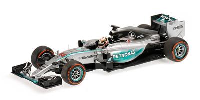"Mercedes W06 ""GP. Japón"" nº 44 Lewis Hamilton (2015) Minichamps 1:43"