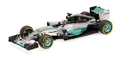 """Mercedes W06 """"GP. Mónaco"""" nº 44 Lewis Hamilton (2015) Minichamps 1:43"""
