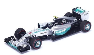 "Mercedes W06 ""GP. Mónaco"" nº 6 Nico Rosberg (2015) Spark 1:18"