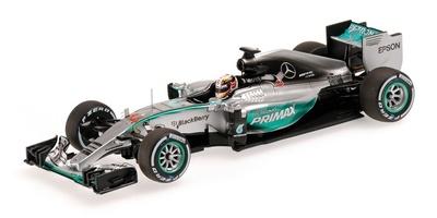 "Mercedes W06 ""GP. Malasia"" nº 44 Lewis Hamilton (2015) Minichamps 1:43"