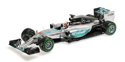 "Mercedes W06 ""GP. USA"" nº 44 Lewis Hamilton (2015) Minichamps 1/18"