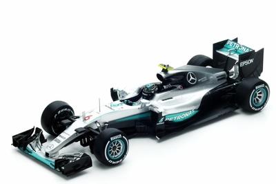 """Mercedes W07 """"1º GP. Australia"""" nº 6 Nico Rosberg (2016) Spark 1:18"""