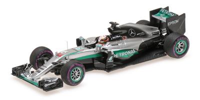 """Mercedes W07 """"1º GP. Mónaco"""" nº 44 Lewis Hamilton (2016) Minichamps 1:43"""
