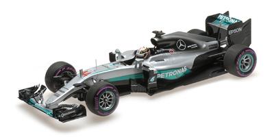 "Mercedes W07 ""GP. Abu Dhabi"" nº 44 Lewis Hamilton (2016) Minichamps 1:18"