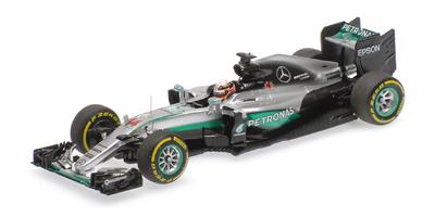 "Mercedes W07 ""GP. Abu Dhabi"" nº 44 Lewis Hamilton (2016) Minichamps 1:43"
