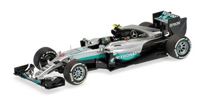 """Mercedes W07 """"GP. Australia"""" nº6 Nico Rosberg (2016) Minichamps 1:43"""
